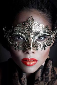 Girl with Masquerade Mask Gothic Mask, Beyond The Mask, Venice Mask, Female Mask, Mysterious Girl, Eyes Wide Shut, Beautiful Mask, Beautiful Things, Mask Girl