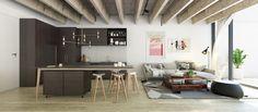 Citizen Apartments Auckland - Kitchen First Home Buyer, Urban Design, Event Decor, Desk, Table, Apartments, Inspiration, Furniture, Auckland