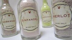 Mothers Day Wine Salts Merlot Cabernet Zinfandel Chardonnay ~ Mothers Day  Basket Hostess Birthday Anniversary Corporate Client Employee