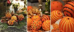 decorations oranges