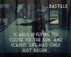 lyrics of icarus bastille