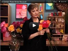 FiftyFlowers.com Video - How To Make a Garden Rose Bridal Bouquet
