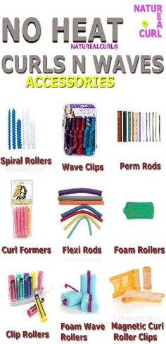 Natural hair Care Naturealcurl Heat free curls .... Rollers .......... Waves