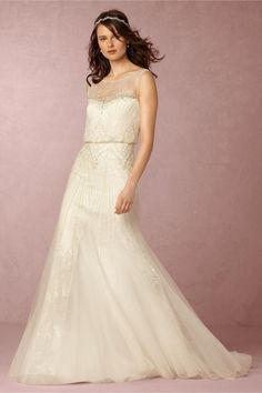 BHLDN Hester Gown in  Bride Wedding Dresses at BHLDN