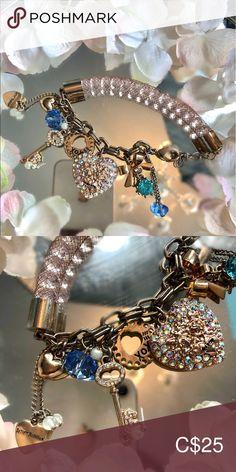 I just added this listing on Poshmark: Cute Betsy Johnson charm bracelet🎀✨. Small Heart, Heart Charm, Betsey Johnson, Centre, Jewelry Bracelets, Charms, Dangles, Women Jewelry, Mesh