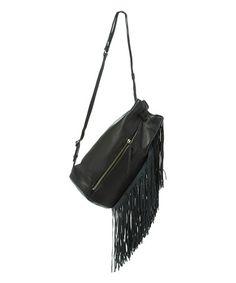 Black Prince Street Leather Satchel #zulily #zulilyfinds
