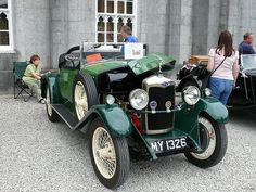 Vintage Car - Riley 9 [MY 1326] 110710 Leighton Hall Vintage Sports Cars, Classic Sports Cars, Vintage Cars, Antique Cars, Automobile, Veteran Car, Classy Cars, Vintage Classics, Car Wheels
