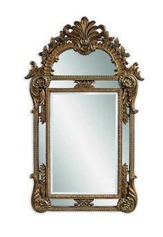 Valencia Antique Gold Old World PU Wall Mirror