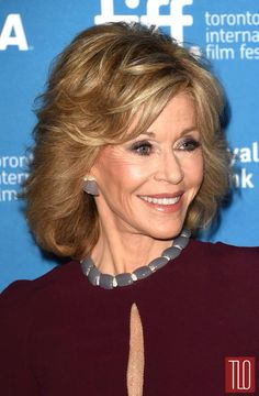 "Jane Fonda at premier of ""This Is Where I Leave You "" ...walking red carpet in  Elie Saab"