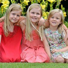 The 3 Dutch Princesses: Amalia, Alexia and Ariane #crownprincessAmaliaoftheNetherlands #PrincessAlexiaoftheNetherlands #PrincessArianeoftheNetherlands #DutchPrincesses