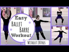 Introduction: Ballet Class at the barre (tendues,battements,frappes,fondu,rond de jambes,developpes) - YouTube