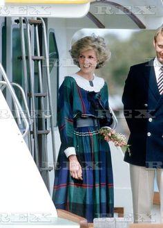 Royal visit to Australia - Oct 1985 Princess Diana and Prince Charles visit Mildura, Australia Oct 1985