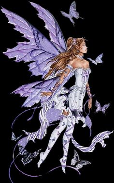 Tube fée violette