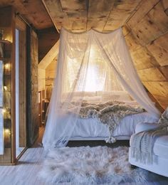 Really digging the mosquito netting idea.. I could totally do this. What do you…