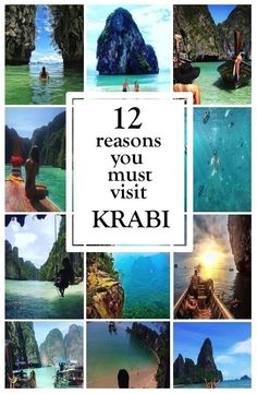 12 reasons you must visit Krabi, Thailand