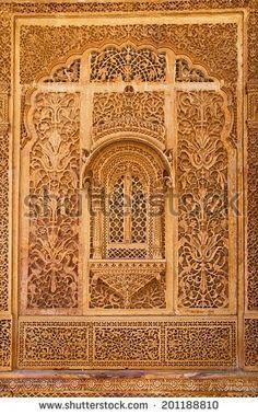 Carved Window Mandir Palace Jaisalmer Rajasthan Stock Photo (Edit Now) 201188810 Indian Temple Architecture, Mughal Architecture, Historical Architecture, Ancient Architecture, Beautiful Architecture, Architecture Details, Mysore Palace, Wooden Door Design, Jaisalmer
