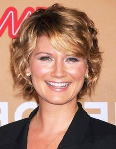 Short Curly Hairstyles for Fine