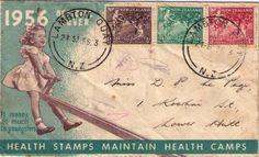 mail art - 1956 envelope artwork