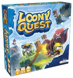 The Brick Castle: Loony Quest Family Board Game Giveaway (age 8+)