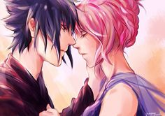 SasuSaku Anime couple