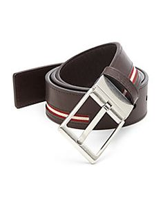 44e8b23d0f19 Bally - Reversible Leather Belt Men Store