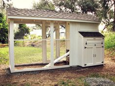 My chicken coop (or palais de poulet, as I like to refer to it)
