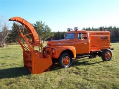 """""""Oddballs"""" pics - Page 2 - Ford Truck Enthusiasts Forums Gm Trucks, Cool Trucks, F100 Truck, 1948 Ford Truck, Equipment Trailers, Heavy Construction Equipment, Panel Truck, Old Tractors, Snow Plow"""