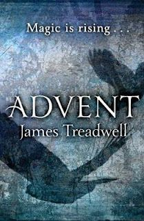 Advent by James Treadwell. This is the first book in a triology. From the first line, the writing style is at times poetic, and other times awkward. The background information is often too complicated to follow and draws from a very broad range of legends (a detriment, in my opinion). However, the characters are compelling and I have enough questions remaining about them that I will likely pick up the next books in this trilogy.
