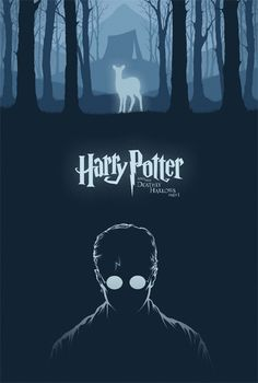 Harry Potter & The Deathly Hallows: Part 1 - movie poster - Cameron K. Lewis
