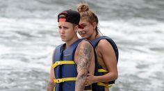 WATCH: Justin Bieber And Hailey Baldwin Get Handsy On A Jetski In Miami Hailey Baldwin  #HaileyBaldwin
