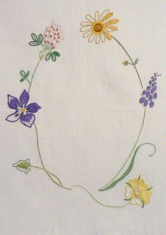 Field flowers alphabet - Q – French Needlework Kits, Cross Stitch, Embroidery, Sophie Digard – The French Needle