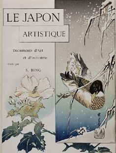 Cover of the French magazine Le Japon artistique (1888)