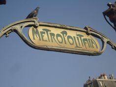 Metropolitain, Paris ! <3