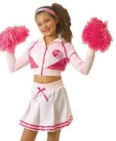 cheerleader costumes for kids  sc 1 st  Pinterest & Girls Cheerleader Outfit Kids Halloween Costume   Avau0027s Pinning ...