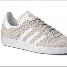 adidas gazelle couleur mystery green footwear white gold metalic portées