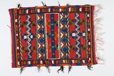 Abstract Berber Moroccan Area Rug