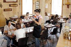 Café de l'Anse du Centre Culturel Le Griffon, Dining Gaspésie, Gaspésie, Québec Conference Room, Table Settings, Places, Cultural Center, Lugares, Table Top Decorations, Meeting Rooms, Place Settings, Dinner Table Settings