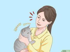 3 manières de parler avec votre chat - wikiHow Devon Rex, Natural Ant Repellant, Chat Oriental, Cat Steps, Son Chat, All About Cats, Anime, Listerine, Training