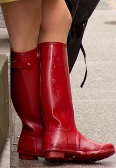 Wellies Rain Boots, Rain Gear, Red Boots, Hunter Boots, Lady, Fashion Boots, Rubber Rain Boots, Sea Witch, Swat