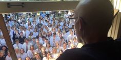 400 Students Surprise Teacher Battling Cancer With Sweet Serenade | Huffington Post