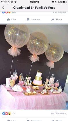 I love the balloons!