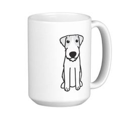 Shop Labrador Retriever Dog Cartoon Coffee Mug created by DogBreedCartoon. Bloodhound Dogs, Whippet Dog, Samoyed Dog, Bullmastiff, Rottweiler Dog, Weimaraner, Entlebucher Mountain Dog, Dog Coffee, Coffee Mugs