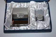 Elvis stormproof lighter and cigarette case - Smokers Accessories