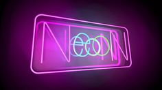Cinema 4D - How to Create a Neon Sign Tutorial