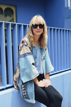 17 Ways to Wear Patchwork Denim
