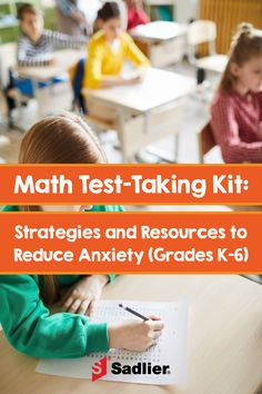 The Math Test-Taking Strategies Kit is filled with resources to help your elementary students answer various question types and manage test anxiety. Teaching Activities, Math Resources, Teaching Tips, Teaching Math, Maths, Math Test Games, Free Math Games, Math Teacher, Math Classroom