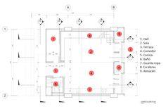 Plano del departamento duplex