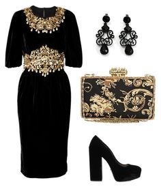 """""""Untitled #875"""" by mchlap on Polyvore featuring Dolce&Gabbana, Prada, Avalaya and River Island"""