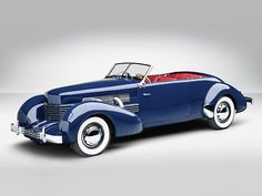 A 1937 Cord 812 Supercharged Phaeton - now that's what I call a convertible Us Cars, Sport Cars, Toyota Land Cruiser, Austin Martin, Cord Automobile, Deco Cars, Vintage Cars, Antique Cars, Convertible