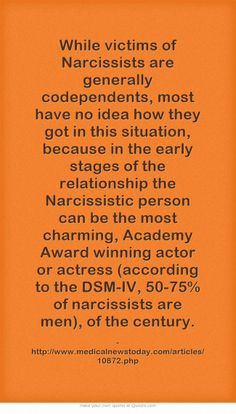 Articles narcissist relationship